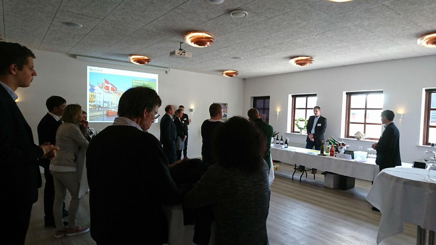 Tysk erhvervs-delegation tog base i fjordbyen