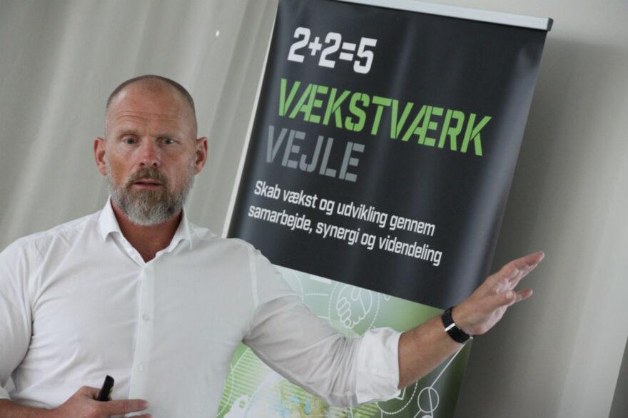 Novozymes grønne profil besøgte Vækstværk Vejle