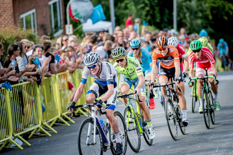 174 kilometers kongeetape med mål I Vejle