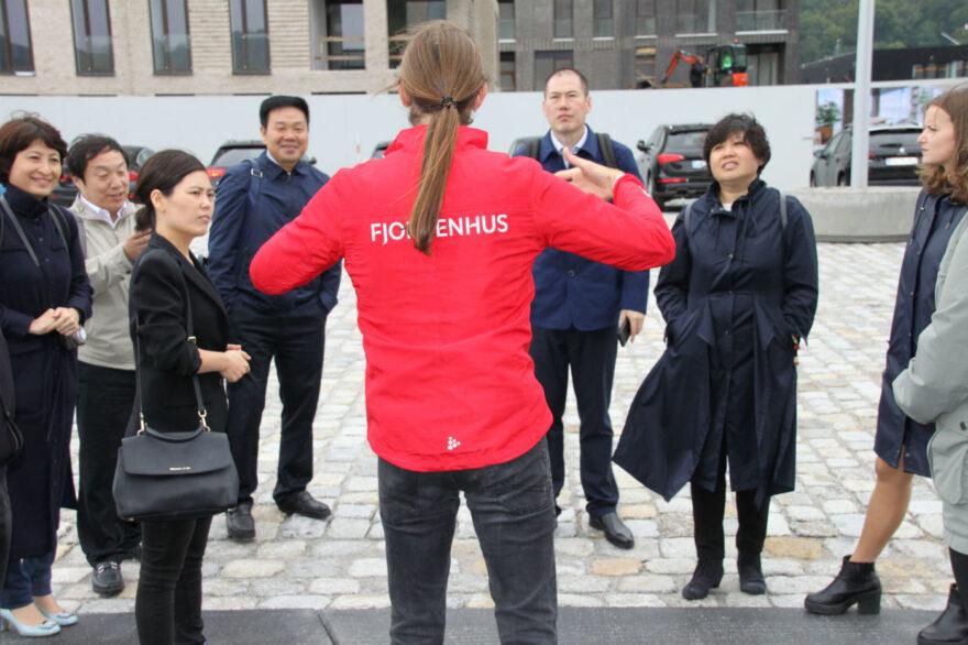 Beijing-delegation på velfærdsmission i Vejle