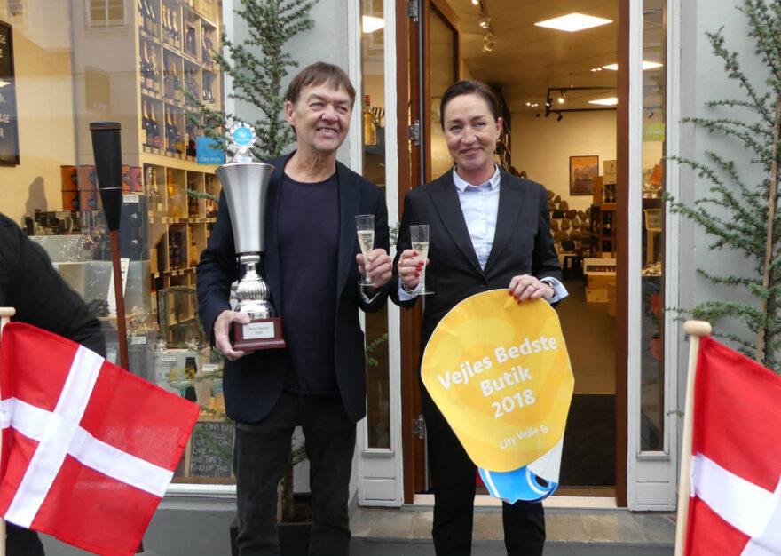 City Vejle kårer Vejles bedste butikker 2018