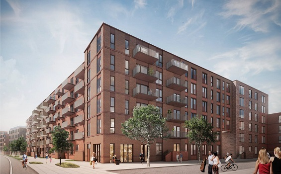 PFA bygger 228 boliger i Vejle centrum