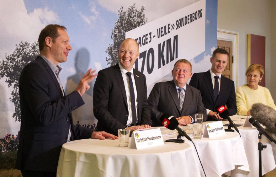 Pressemøde: Se billeder og video fra Tour de France pressemødet på Vejle Rådhus