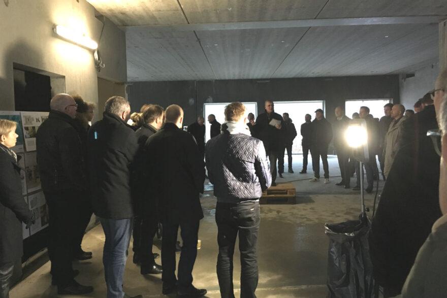 Rejsegilde på Danmarks første resiliente hus