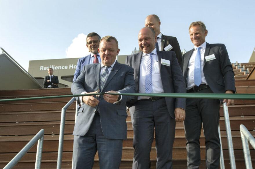 Statsministeren åbnede Resilience House i Vejle