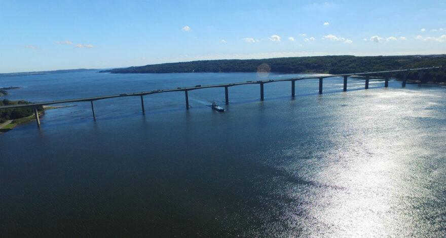 Trafikken på Vejlefjordbroen steget 36 pct. siden 2010