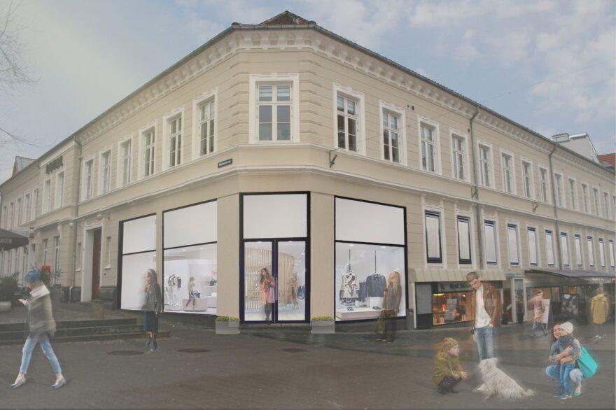 Mange bejlere til butik i historisk Vejle-bygning