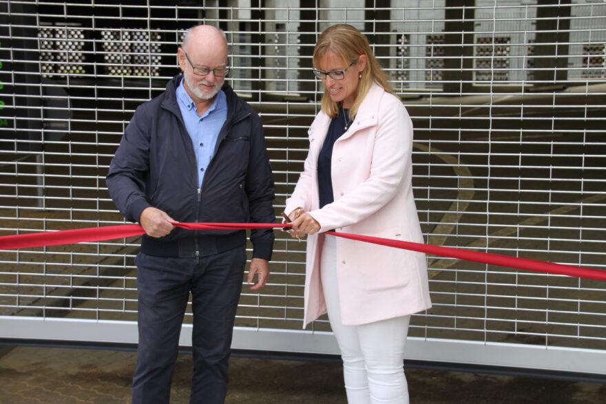 Slut med P-kaos ved Vejle Sygehus: 408 nye parkeringspladser klar til tiden