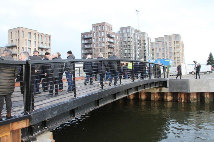 HavneØens nye bro indviet