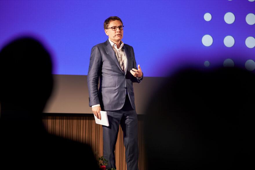 Brian Mikkelsen roste udviklingen i Vejle Kommune til nytårskur i Vingsted