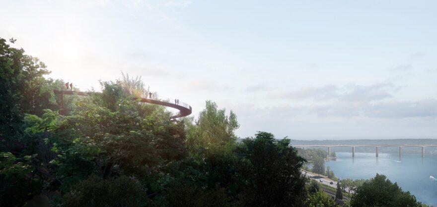 To arkitekthuse skal skabe Vejles nye udsigtspunkter