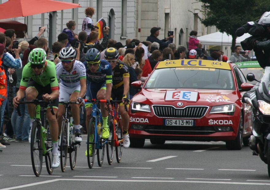 Danmarks Tour de France etaper offentliggøres på Munkebjerg Hotel i Vejle