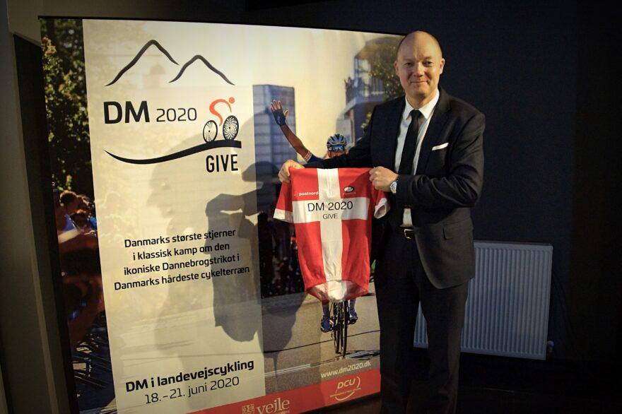 Pressemøde: Se billeder og video fra præsentationen af årets DM-ruter i Give