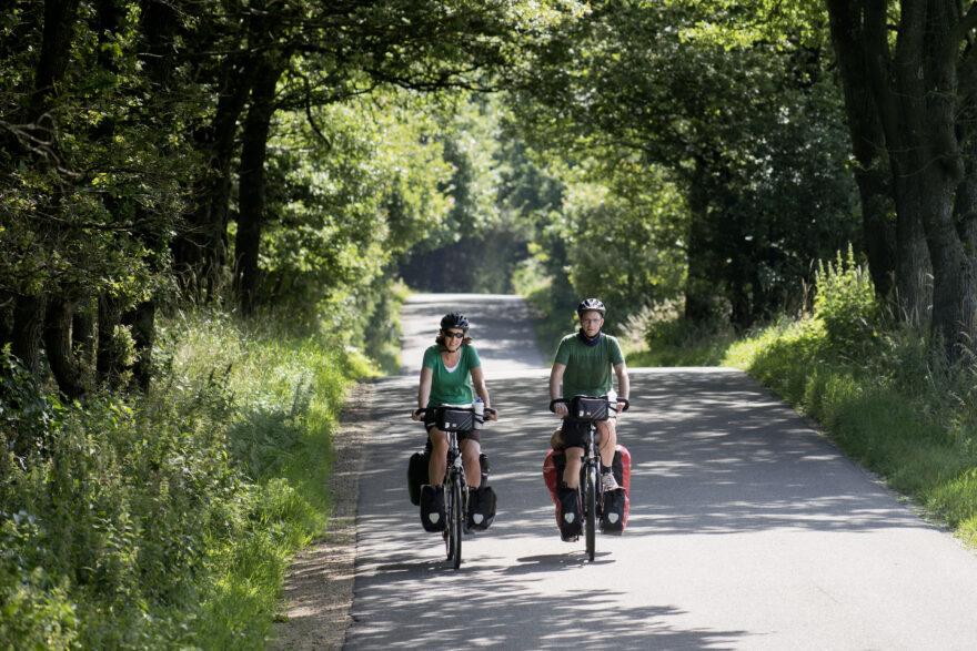 Hærvejen: Nye pakkeløsninger skal gøre cykelferien endnu lettere