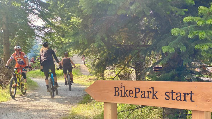 Vejle Bike Park er åbnet i Sønderskoven