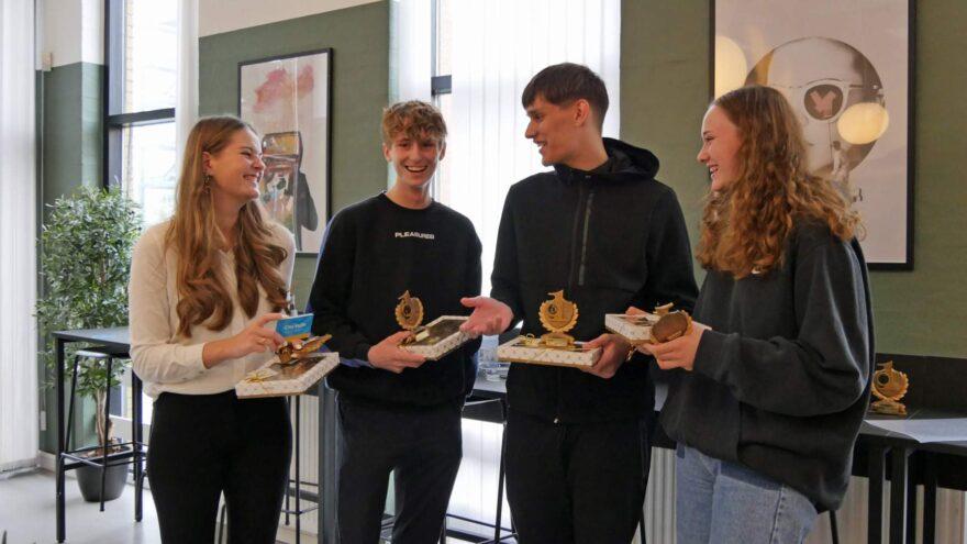 Campus Vejle-elever giver verdensmålene en hjælpende hånd