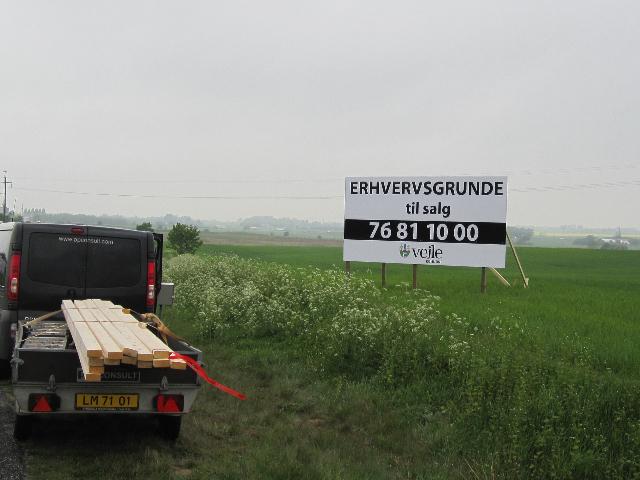 Vejle Kommune solgte mere end 50.000 m2 erhvervsjord i 2020