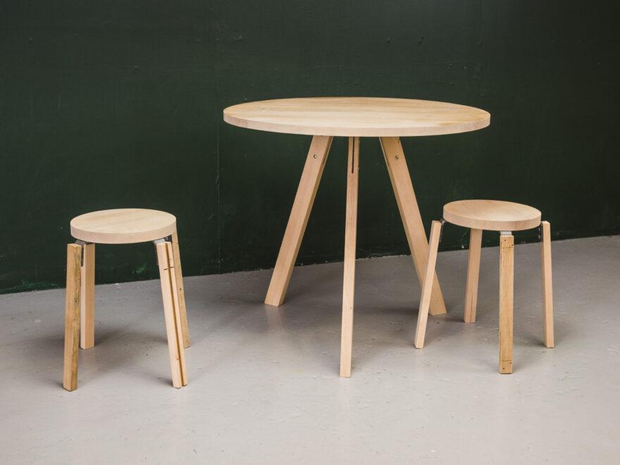 Bedstes aflagte møbler bliver omdannet til nyt møbeldesign