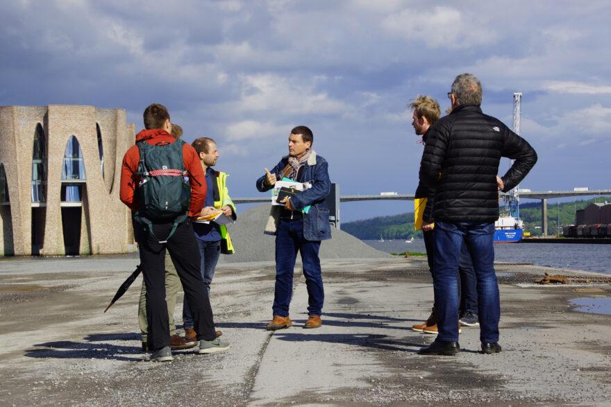 Galleri: ASO på teknisk besøg på Havneøen i Vejle