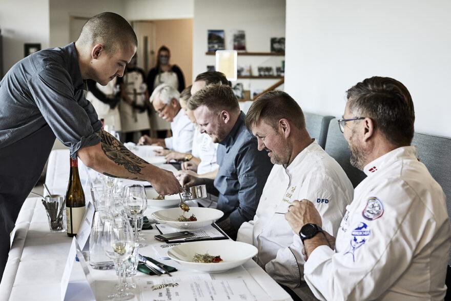 Årets kokkekonkurrence byder på gastronomisk topkvalitet